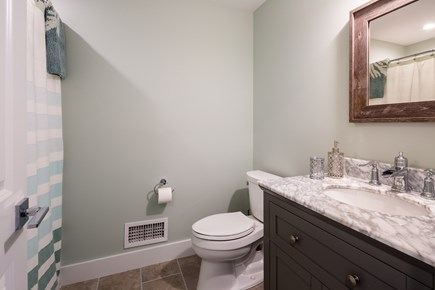 Eastham Cape Cod vacation rental - Bathroom 3 - ensuite with stand up shower