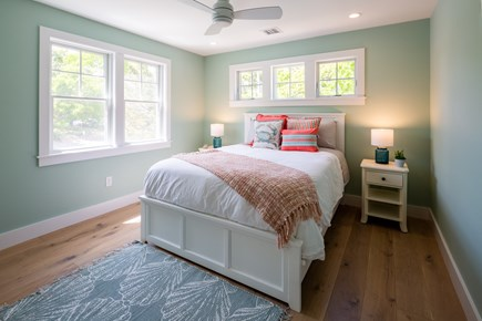 Eastham Cape Cod vacation rental - Bedroom 2 with queen bed on main level
