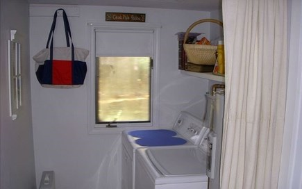 Eastham Cape Cod vacation rental - Laundry area
