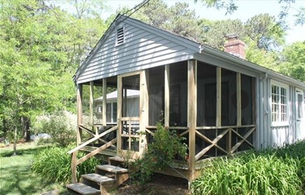 Eastham Cape Cod vacation rental - Spacious porch