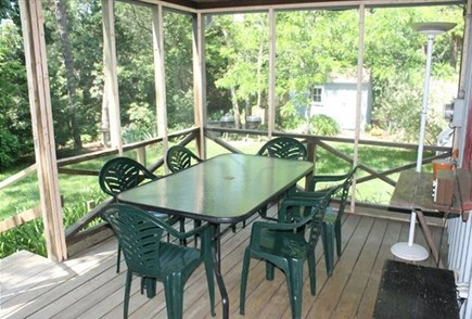 Eastham Cape Cod vacation rental - Porch and large back yard