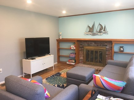 Dennis Cape Cod vacation rental - Sunny living room