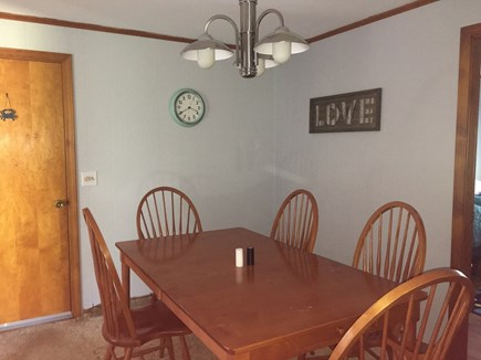 Dennis Cape Cod vacation rental - Dining room right off the kitchen