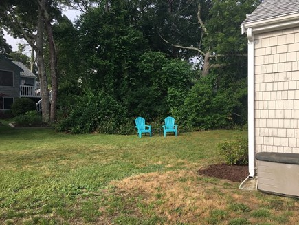 Dennis Cape Cod vacation rental - Large yard perfect for games and barbeque