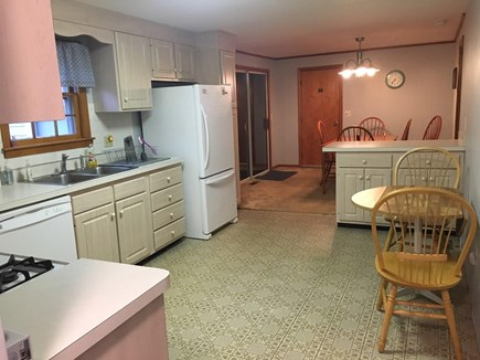 Dennis Cape Cod vacation rental - Kitchen open to dining
