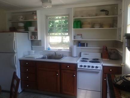 Dennis Cape Cod vacation rental - Full kitchen with stove, fridge and microwave 22