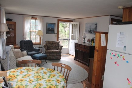 Eastham Cape Cod vacation rental - Living Room/Dining Area