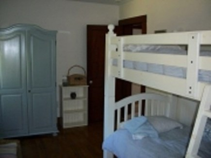 Dennis Cape Cod vacation rental - Bedroom 3 with bunk (2 twin)