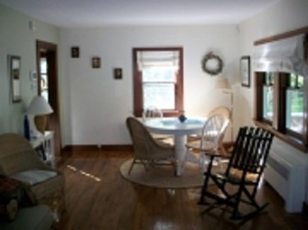 Dennis Cape Cod vacation rental - Large living room with dining table