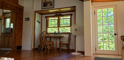 Wellfleet, Pleasant Point Cape Cod vacation rental - Sunroom / dining nook / kitchen...