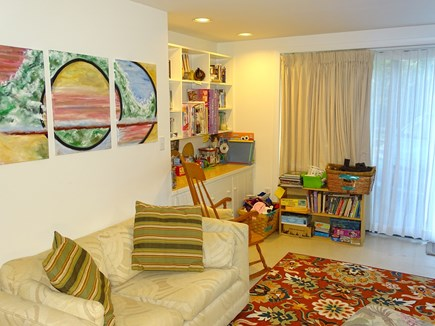 Truro Cape Cod vacation rental - Great for kids! Playroom area of twin bedroom