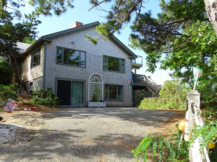 "Truro Cape Cod vacation rental - A 5-bedroom ""upside down"" house with A/C and water views"