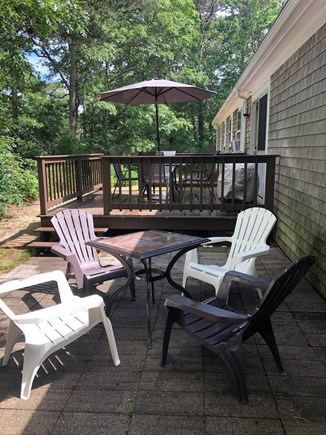 Brewster Cape Cod vacation rental - Outdoor back deck and patio