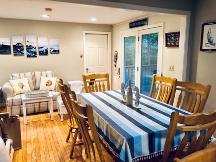 Brewster Cape Cod vacation rental - Dining room and extended seating area