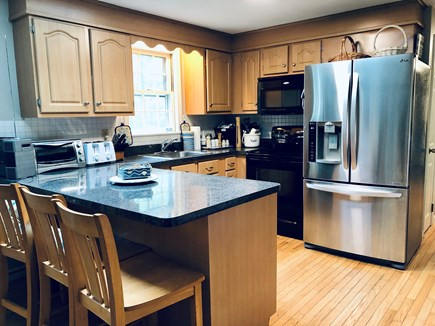 Brewster Cape Cod vacation rental - Kitchen and breakfast bar