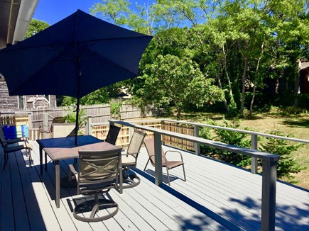 Provincetown Cape Cod vacation rental - Large Deck and Yard