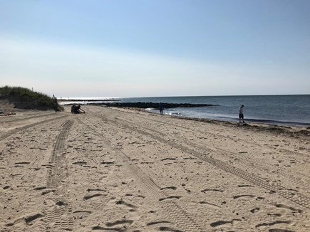 Dennis Port Cape Cod vacation rental - Morning at Glendon Beach, one of seven nearby beaches.
