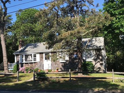 Dennis Port Cape Cod vacation rental - View of front of house from the street.