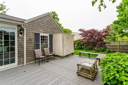 Chatham Cape Cod vacation rental - Outdoor Shower on deck