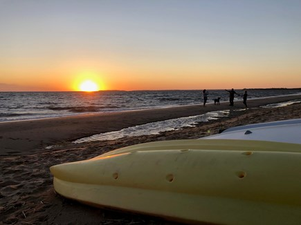 Eastham Cape Cod vacation rental - The sunset at Sunken Meadow Beach is second to none on the Cape.