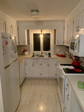 Eastham Cape Cod vacation rental - Galley kitchen has all a family needs.