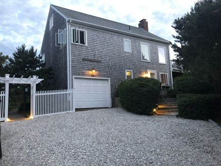 Eastham Cape Cod vacation rental - Front of the house at dusk.