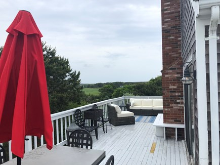 Eastham Cape Cod vacation rental - Relaxing deck area & first-class deck outdoor furniture.