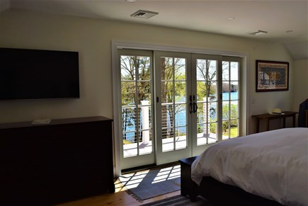 Marstons Mills Marstons Mills vacation rental - Upper level master with king bed, deck and private bath