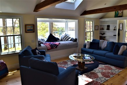 Marstons Mills Marstons Mills vacation rental - Living room with amazing views and window bed!