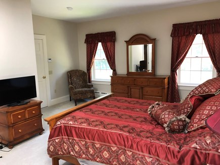 DENNIS Cape Cod vacation rental - Master bedroom with walk in closet.