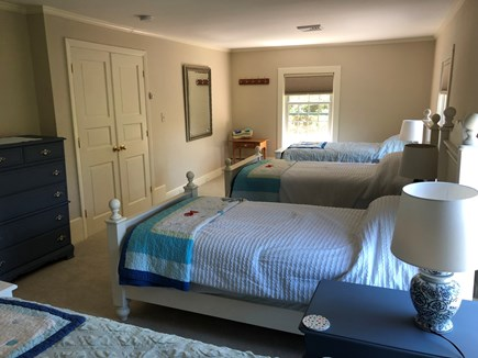 DENNIS Cape Cod vacation rental - Great room for kids, 4 twin beds.