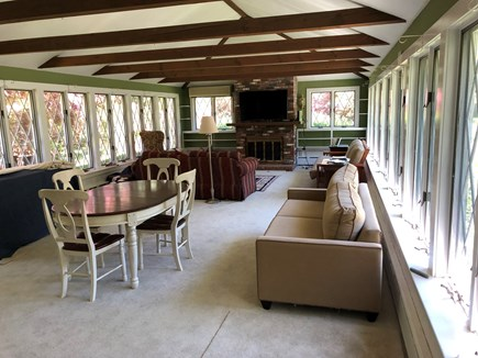 DENNIS Cape Cod vacation rental - Spacious great room on ground level for relaxing.