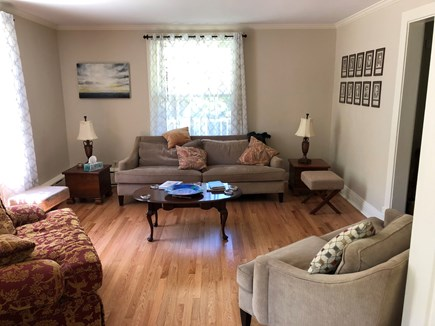 DENNIS Cape Cod vacation rental - Formal living room with large windows for ample sunlight.