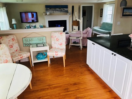 West Dennis Cape Cod vacation rental - The view entering the house.  Nice open concept