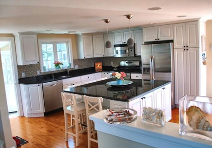 West Dennis Cape Cod vacation rental - Into the fully stocked kitchen