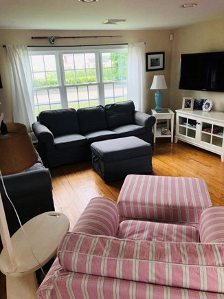 West Dennis Cape Cod vacation rental - Living area with a view