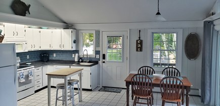Falmouth Cape Cod vacation rental - Kitchen and dining area, fully equipped with utensils