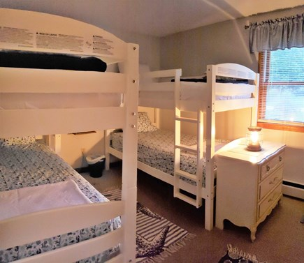Falmouth Cape Cod vacation rental - Twin Bedroom with Bunks