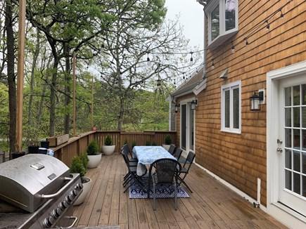 Brewster Cape Cod vacation rental - Deck