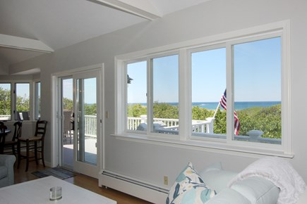 Dennis Cape Cod vacation rental - View From Living Room
