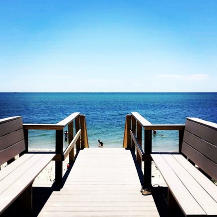 Harwich Port Cape Cod vacation rental - Beach stair
