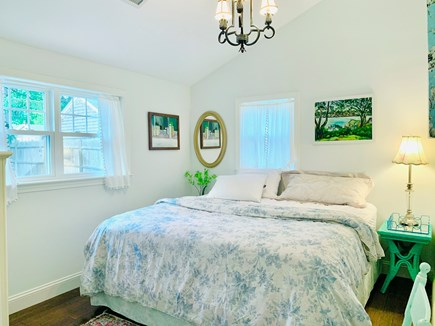 Harwich Port Cape Cod vacation rental - King bedroom with TV