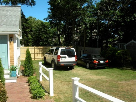 Harwich Port Cape Cod vacation rental - Front yard with parking