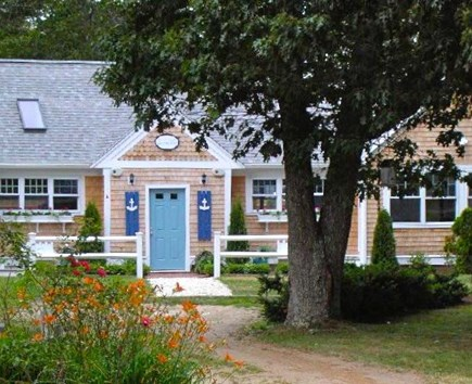 Harwich Port Cape Cod vacation rental - Front of the house