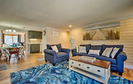 South Yarmouth Cape Cod vacation rental - An open living space provides comfort while being part of it all