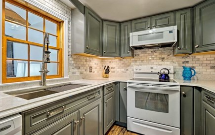 South Yarmouth Cape Cod vacation rental - New Kitchen is fully equipped with all the necessary items