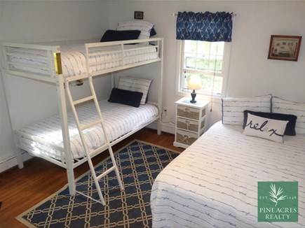 Chatham Cape Cod vacation rental - Kid's Bedroom with 1 Twin Bunkbed and 1 Double