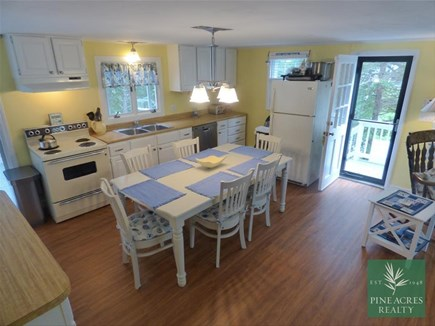 Chatham Cape Cod vacation rental - Light and Bright Kitchen, that opens out to the Living Area