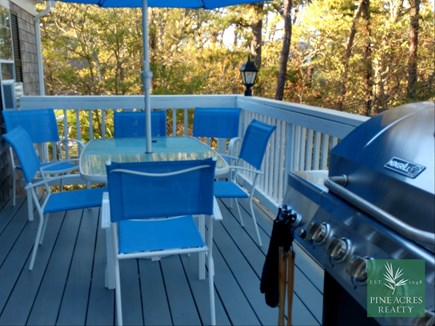 Chatham Cape Cod vacation rental - Deck, with Seating and Gas Grill