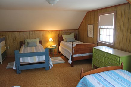 Eastham Cape Cod vacation rental - Bedroom 4 with 5 twins